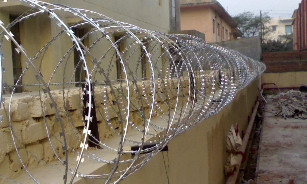 What Is Concertina Razor Wire Coil Manufacturer Barbed